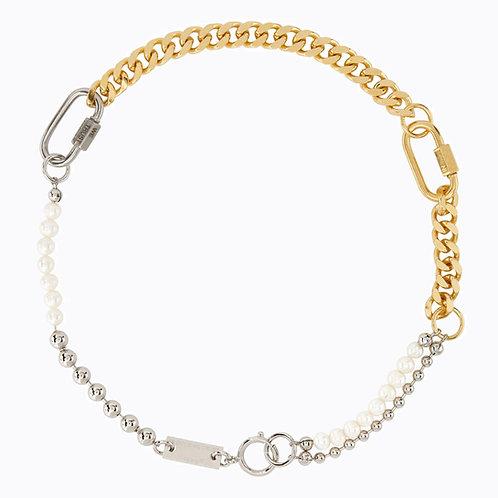 Collier mix 3 bracelets gold