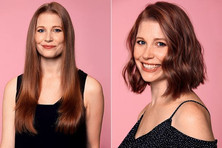 Sunday Mirror: These women chopped off their hair for a life-changing reason - and the results are a
