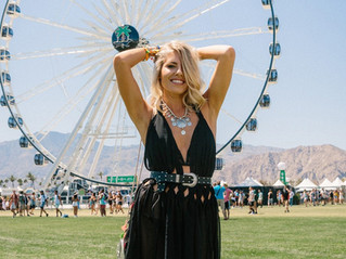 Look Magazine: How To Do 4-Day Festival Hair with Mollie King