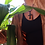Thumbnail: Black Ankh Necklace