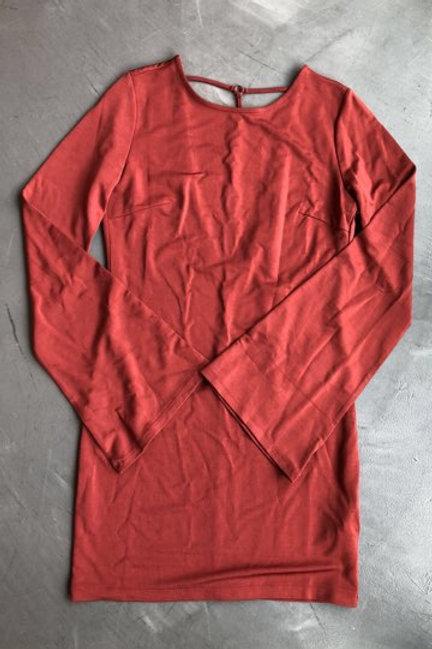 Forever 21 Rust Dress Bell Sleeve Size Medium