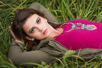 Indianapolis Senior Photographer Urban Fashion and Country Chic Looks