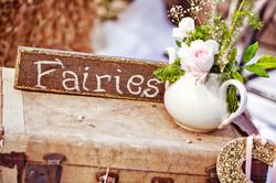 Handmade Fairy Sign