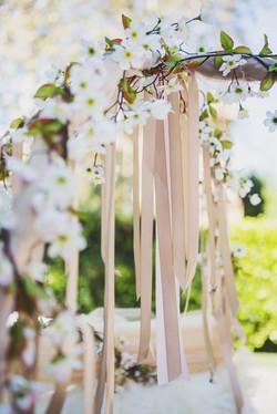 Blush & Taupe Satin Ribbons
