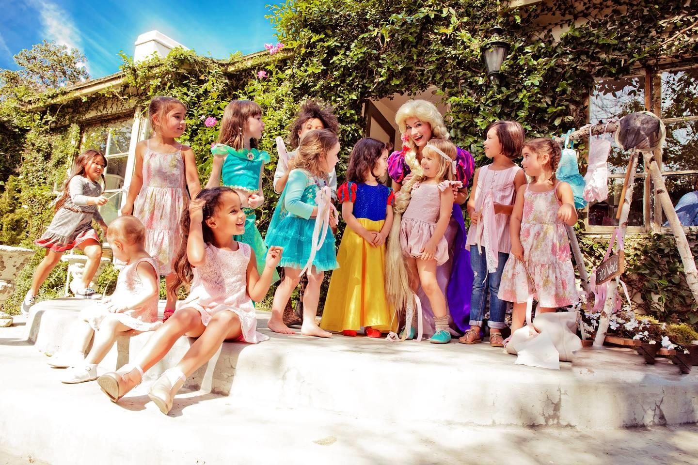 Little Girls & A Princess