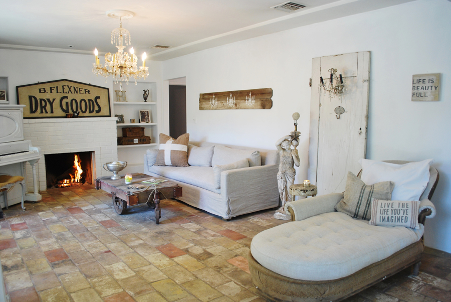 Natural Light Filled Living Room