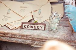Handpainted Cowboy Bandanas