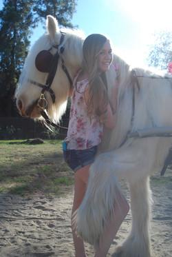Pony Hugging. Literally.