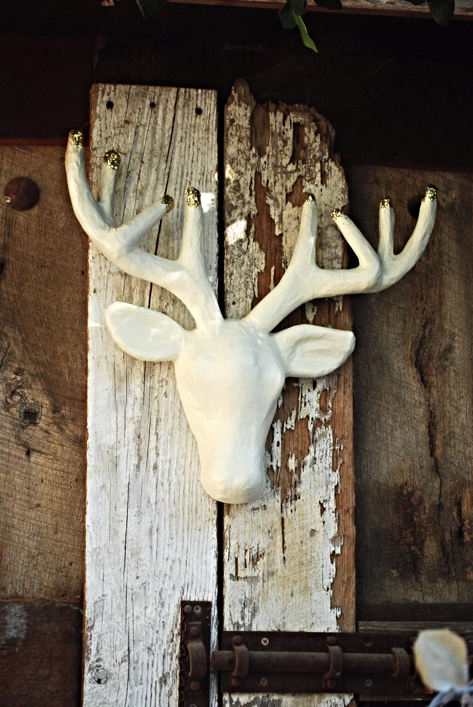 Glittered Antlers