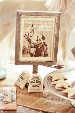 Vintage Table Sign