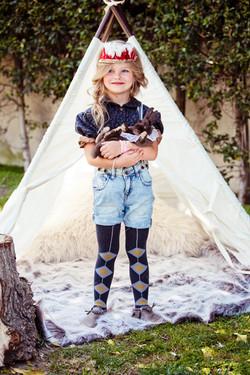 Peyton & Chestnut campout