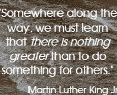 WORDS OF THE MOST AMAZING MAN MARTIN LUTHER KING