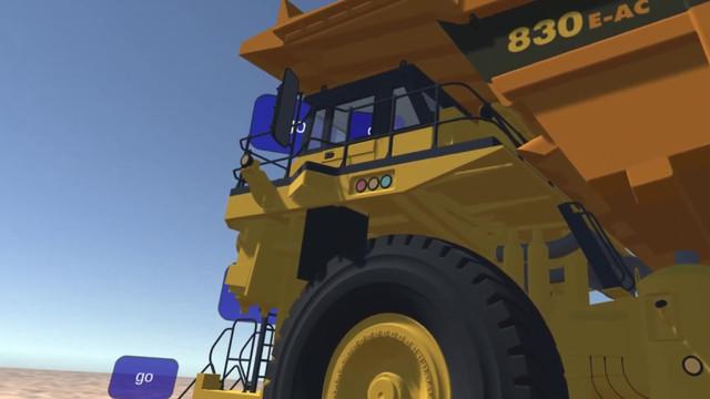 Mining: Komatsu Truck