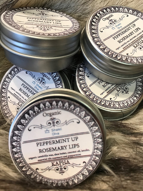PEPPERMINT UP ROSEMARY LIPS 1oz (Kapha)