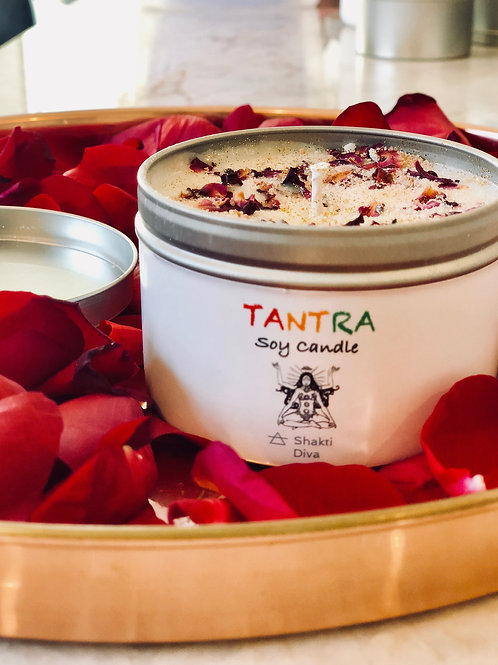 Tantra Soy Candle