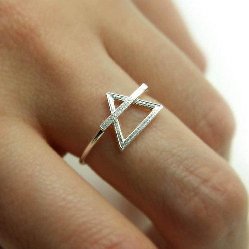 Shakti Diva .925 Sterling Silver Ring
