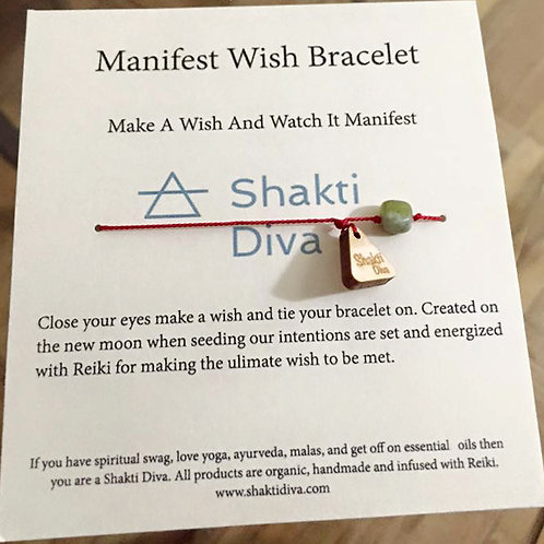 Moon Manifest Wish Bracelet