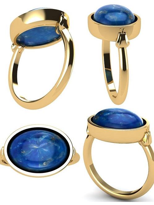 Lapis Naga Ring