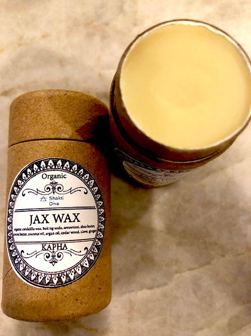 Jax Wax- Kapha Deodorant