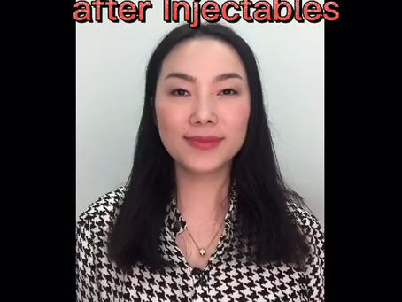 👩🏻⚕️Do these 3 things after you injectable 💉treatment.