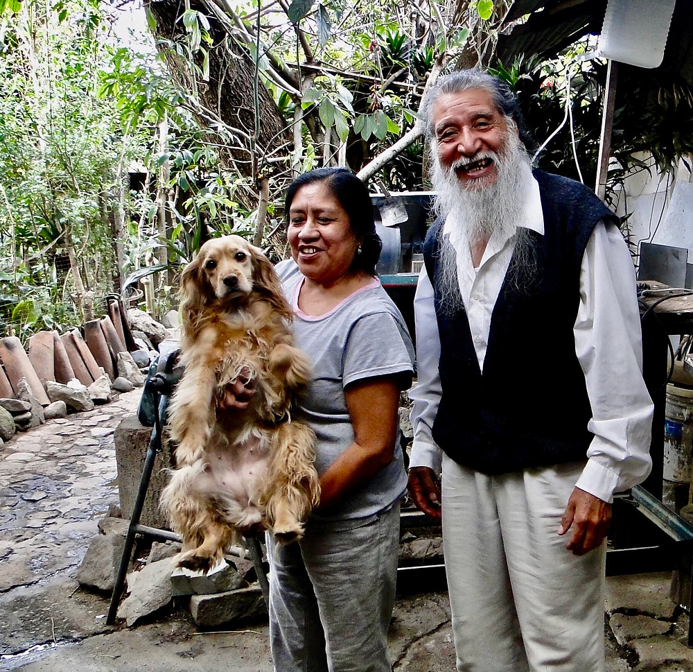 Francisco, his wife and sweet little Candi