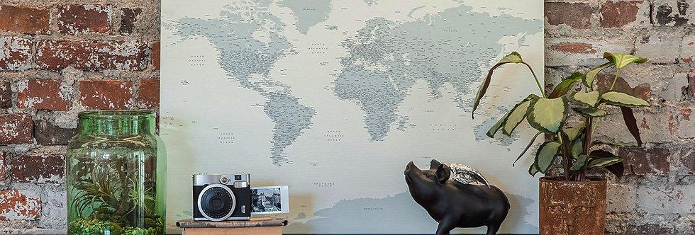 Žalsvas pasaulio žemėlapis