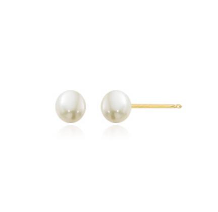 4mm Pearl Stud Earring