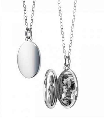 Oval Simple Locket