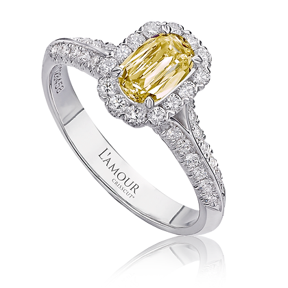 L'Amour Canary Diamond Ring