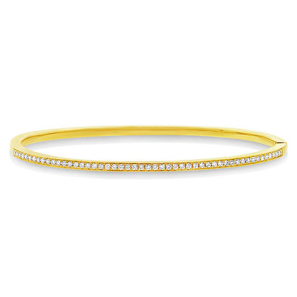 Classic Diamond Bangle 0.47CT