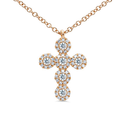Eden Diamond Cross Necklace