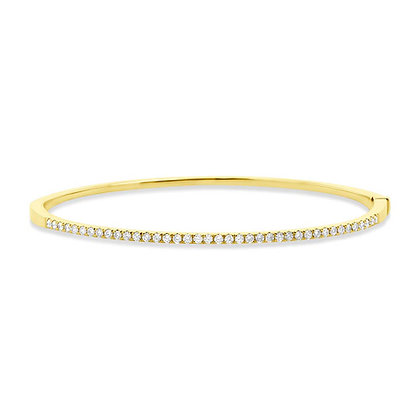 Classic Diamond Bangle 0.62CT