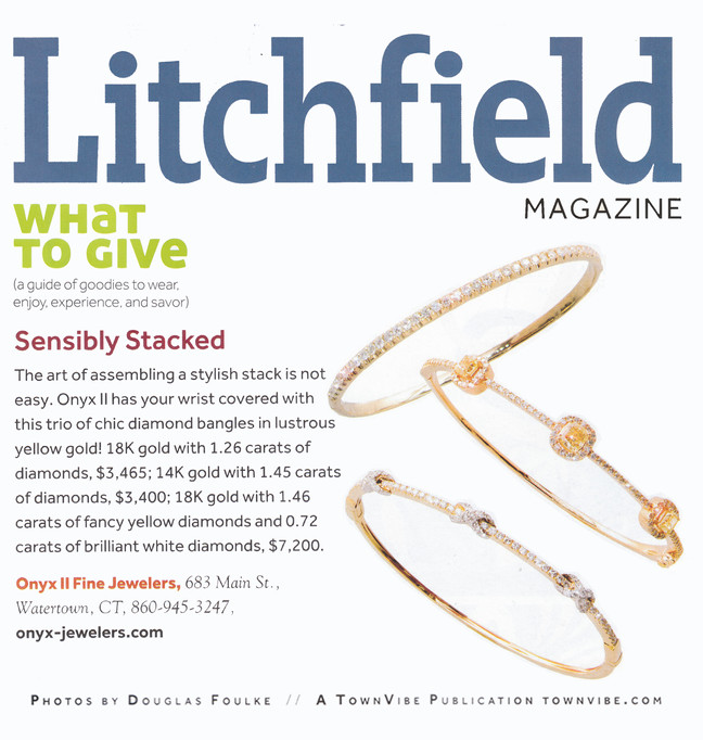 Litchfield Magazine Holiday Gift Guide 2015
