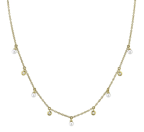 Pearl Cleo Necklace