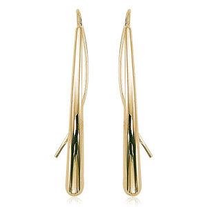 Teardrop Threader Earring