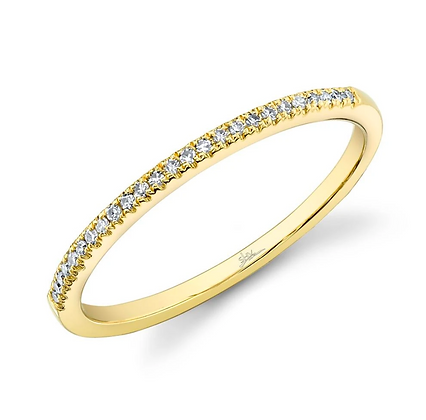 0.08cttw Diamond Stack Band - Yellow