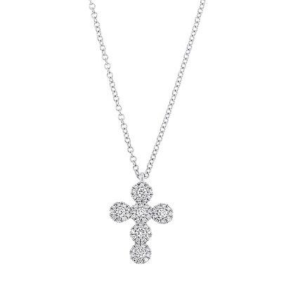 Eden Diamond Cross Necklace