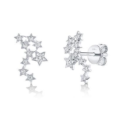 Diamond Star Constellation Earring
