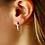 Thumbnail: Flat Sweep Threader Earring