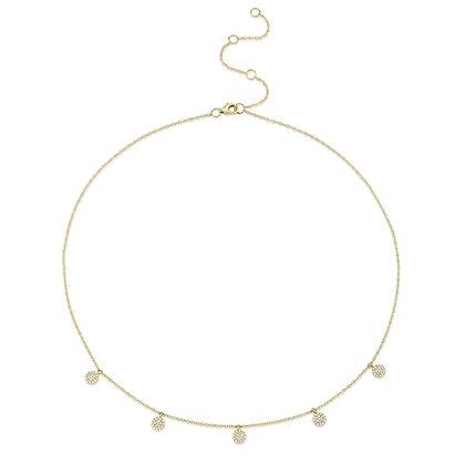 Pavé Circle Necklace