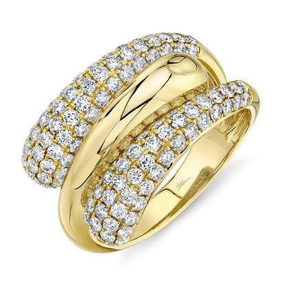 Diamond Pavé Wrap Ring