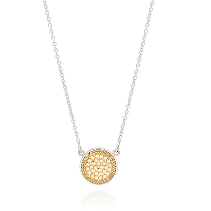 Classic Disc Necklace - Reversible