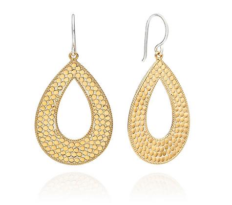 Large Open Drop Earrings