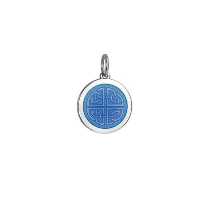 Medium Mother-Daughter Pendant - French Blue