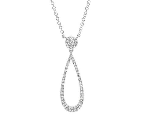 Eden Teardrop Necklace