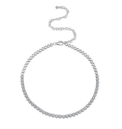 2.44ct Eden Tennis Necklace