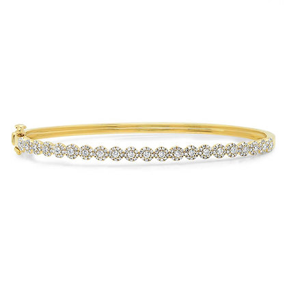 Eden Diamond Bangle