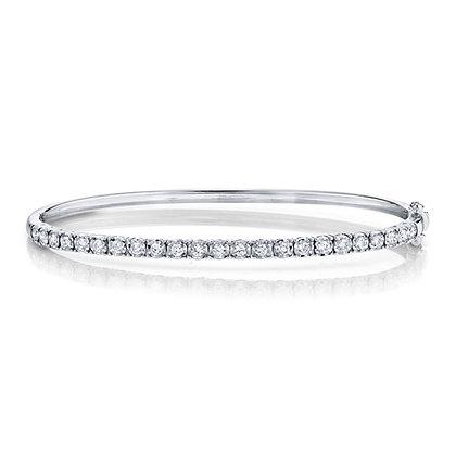 """0.69CT Classic Diamond """"Stella"""" Bangle"""