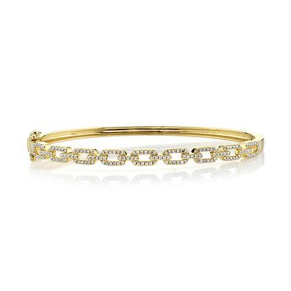 Diamond Link Bangle