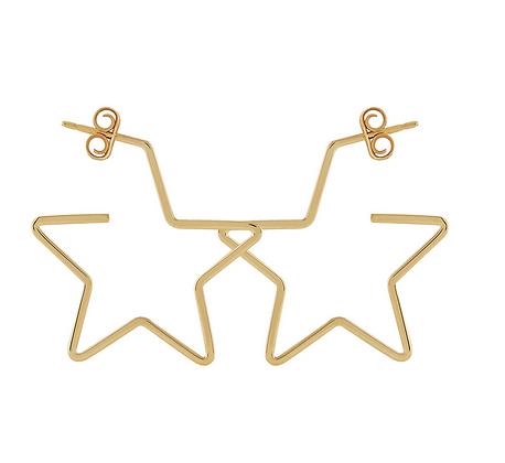 Simple Star Earring